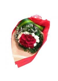 Passion Love Premium Rose Bouquet 02
