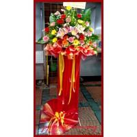 Best Wishes Flower Stand