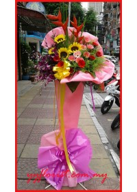 Business Flourishes Flower Stand