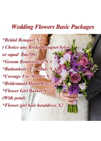 Wedding Flower Basic Packages