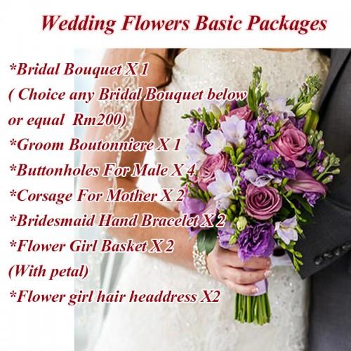 Wedding Flower Basic Packages Kl Online Florist Kepong Florist Pj