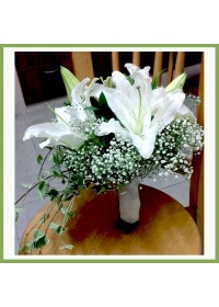 LIly Series Bridal Bouquet 01