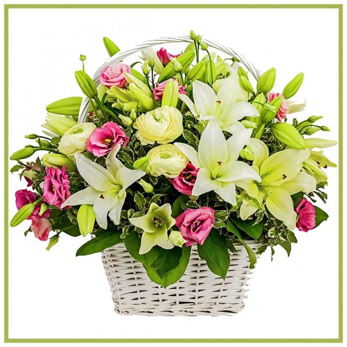flower basket 05 pj florist kl online florist flower