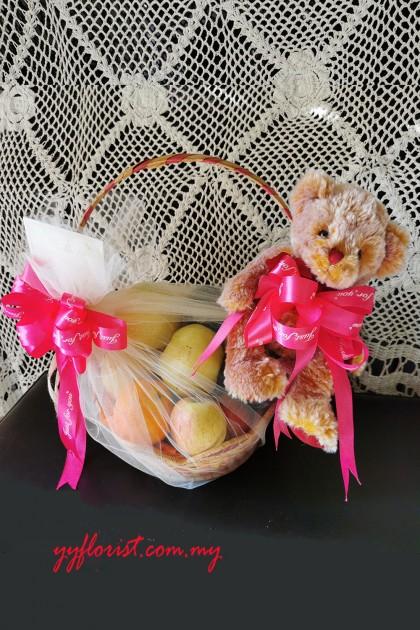 New Born Simple Fruit Basket 01