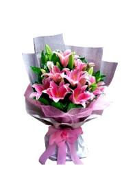 Premium Lily Bouquet 03