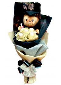 Graduation Bear & Ferrero Rochers chocolate