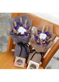 Dry Static & Cotton  Bouquet
