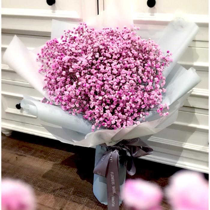 Baby Gift Delivery Kuala Lumpur : Luxury color baby breath kl florist kuala lumpur