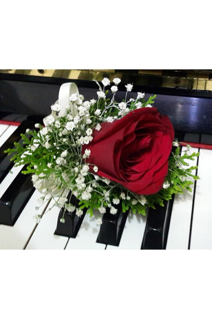 Roses Bridal Bouquet & Corsages Packages