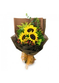 Sunflower Bouquet 06
