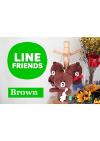Line Friends Plush Toys - Brown