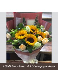 Sunflower Luxury premium Bouquet