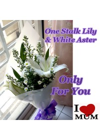 Mother Angle Lily Bouquet