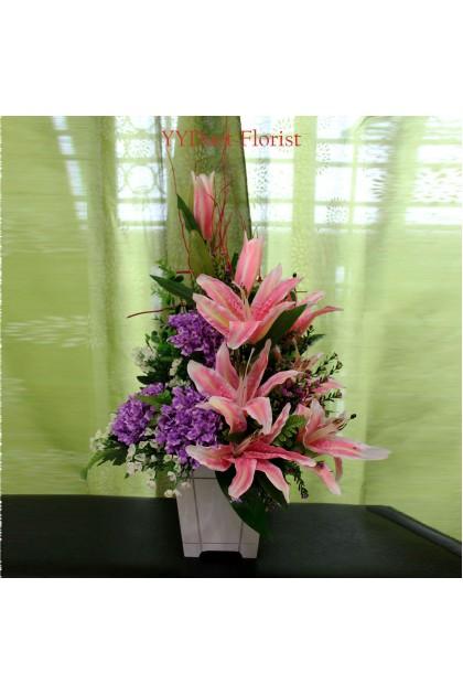 Artificial Flower Arrangement Kl Florist Kuala Lumpur Online Florist Malaysia Delivery Flowers Gift Kedai Bunga Kl Online