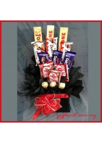 Chocolate Box  Arrangement 01