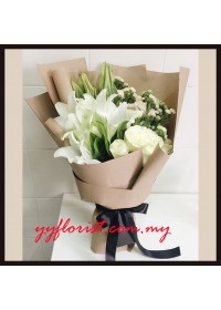 Garden Style - Lily Bouquet