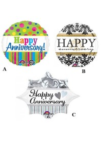 Happy Anniversary Air Fill Balloon