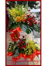 Premium Opening Flowers Stand 1803