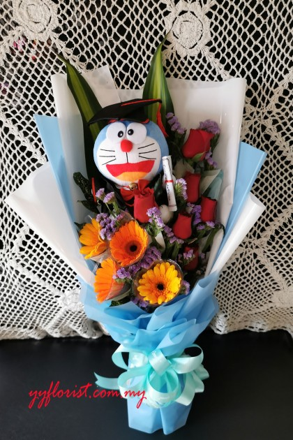 Doreamon Graduation Bouquet 2