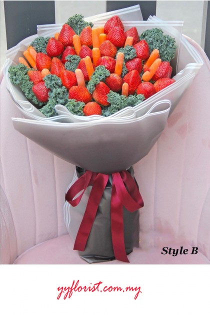 Strawberry & Veggie  Bouquet