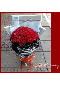 Forever Love -99 Stalk Roses Bouquet