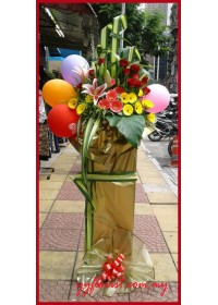 Balloon Flowers Stand