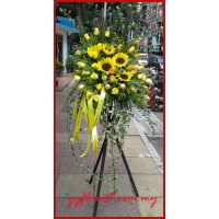 Golden Star Flower Stand
