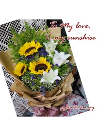 Premium Bouquet - Mix Flowers 03