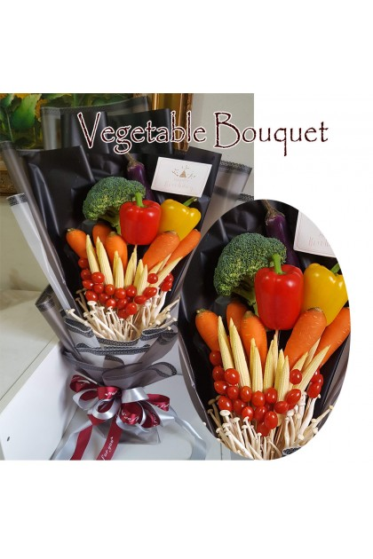 Colorful Vegetable Bouquet