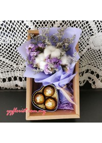 Cotton Static Mini Bouquet