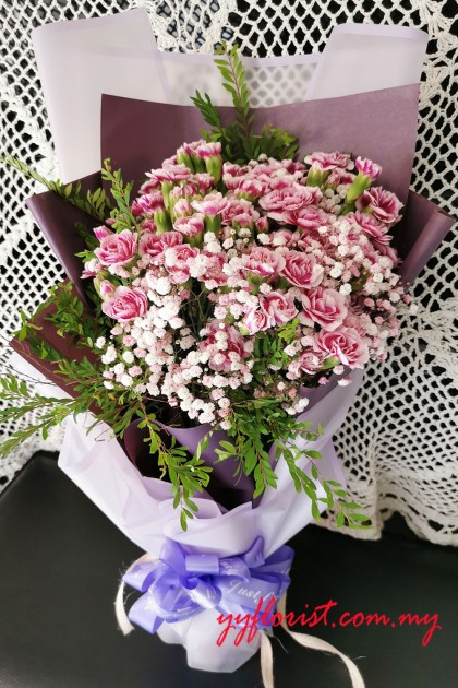 Carnation Bouquet 01