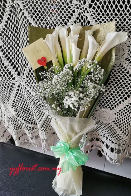 Calla Lily Bouquet 10