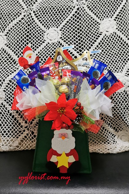 Christmas Chocolate Biscuits hamper B