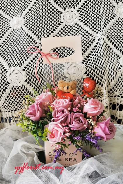 Love Soap Rose - Pink