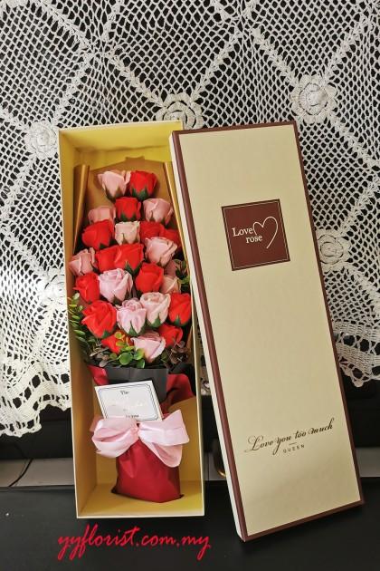 Premium soap Rose Box Flower