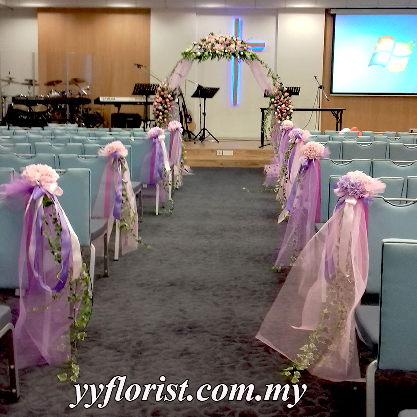 Wedding church decor kl florist kuala lumpur online florist wedding church decor inquire now please call or email for quotation 016 6655132 yyfloristgmail junglespirit Image collections