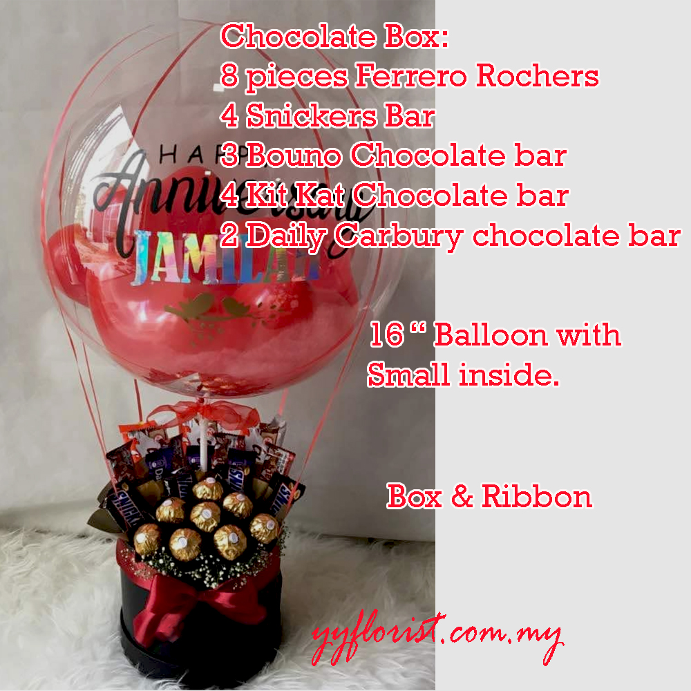 Balloon and chocolate delivery-6019